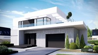 Современный жилой дом в сите минимализма