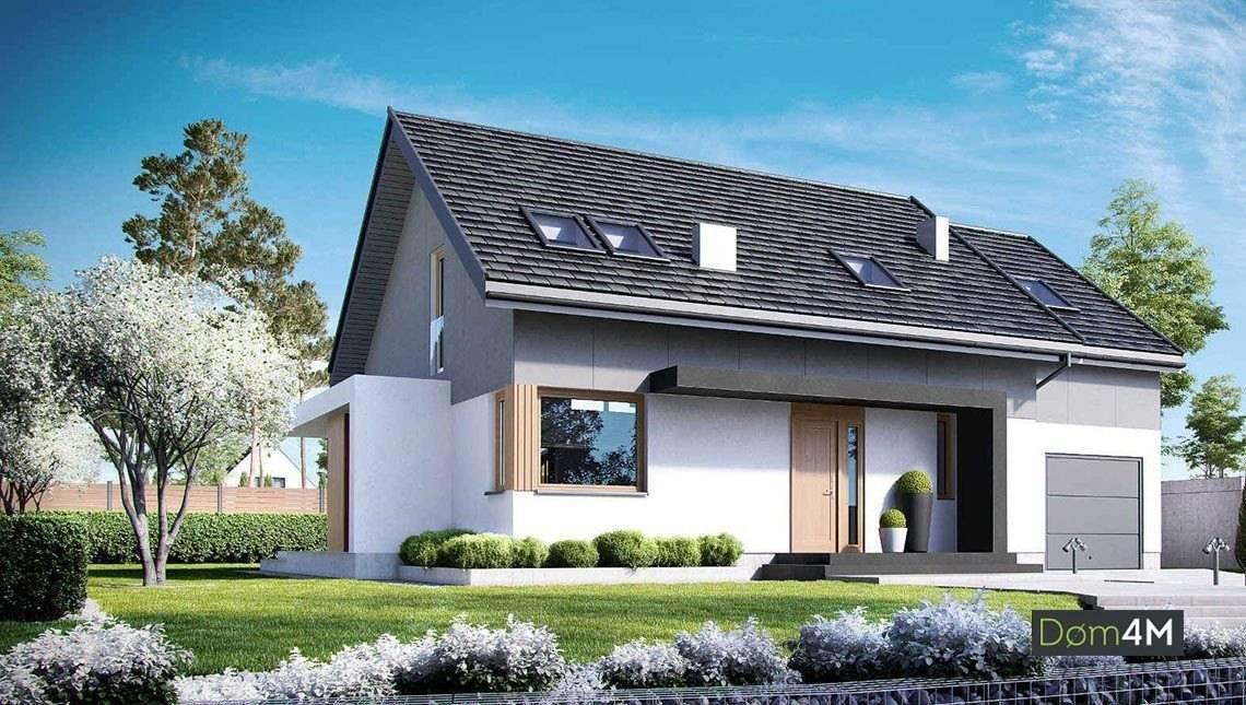 Интересное решение для загородного жилого дома