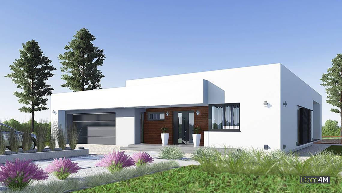 Великолепный одноэтажный жилой дом с большим гаражом