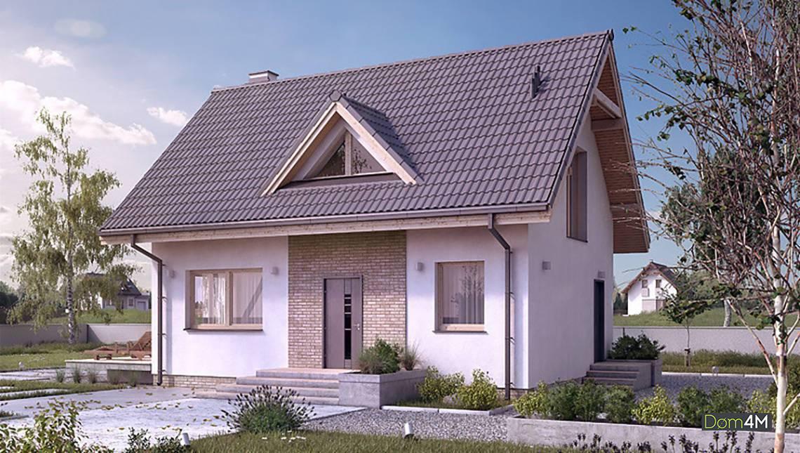 Стильный жилой дом с тремя небольшими спальнями