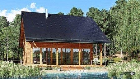 Привлекательный жилой дом для загородной жизни