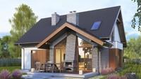 Величественный жилой дом для загородного участка