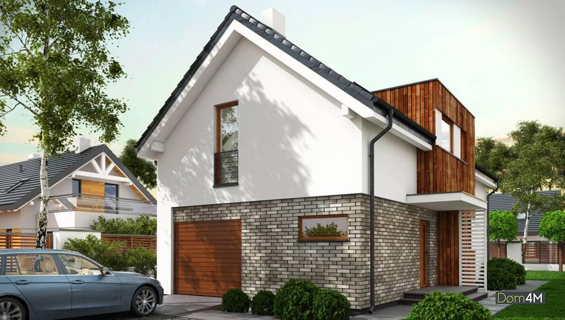 Современный жилой дом с гаражом и тремя спальнями
