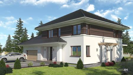 Красивый жилой дом с пятью спальнями и большим гаражом