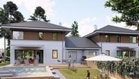 Жилой дом на две семьи с просторными кабинетами