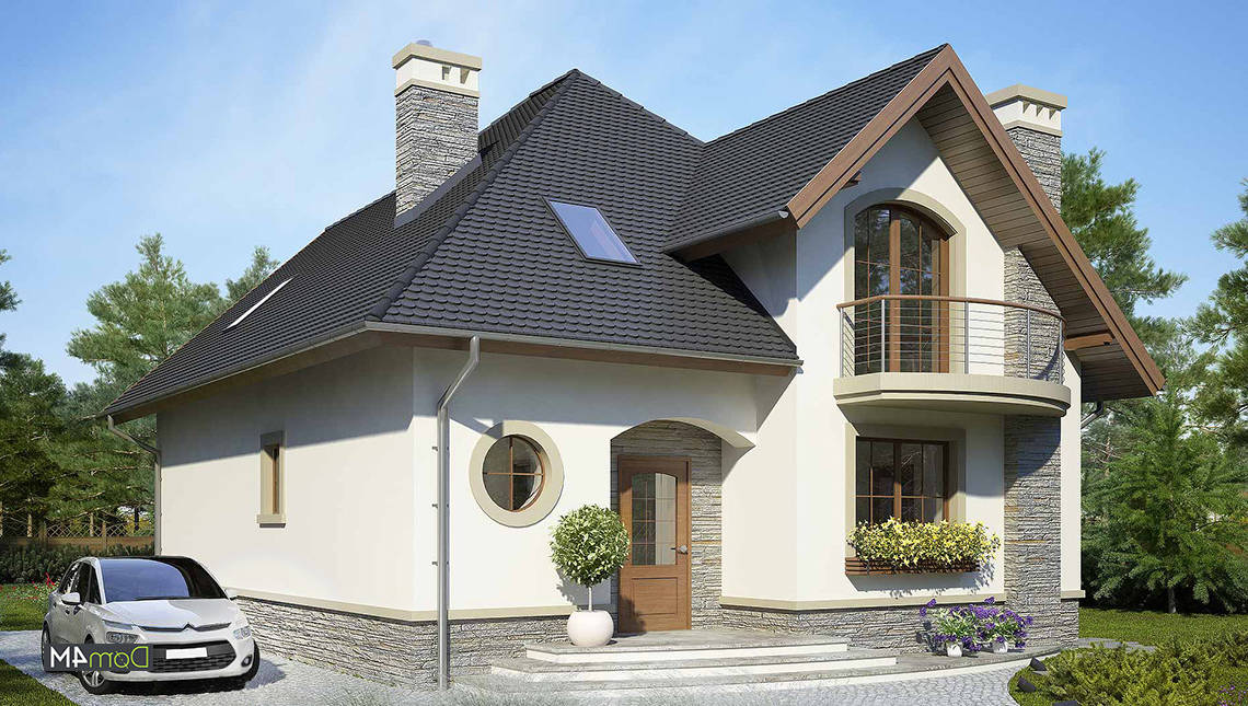 Великолепный двухэтажный особняк в средиземноморском стиле