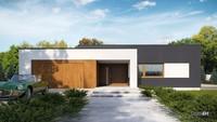 Ультрасовременный красивый одноэтажный дом