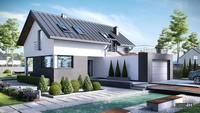 Восхитительный жилой дом с открытыми террасами и верандами