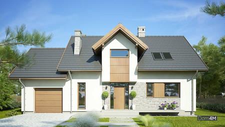 Великолепный двухэтажный дом жилой площадью 100 квадратов