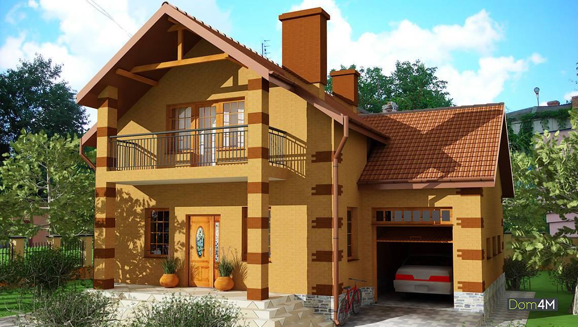 Комфортабельный жилой дом на 2 два этажа