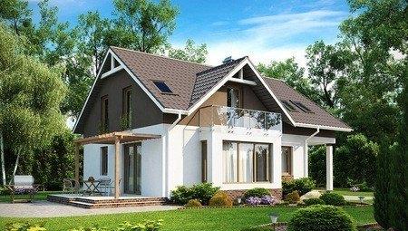 Уютный дом с дневной зоной