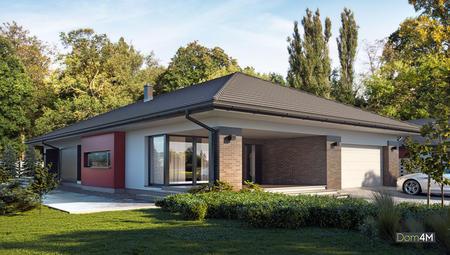Проект шикарного особняка площадью 253 кв. м