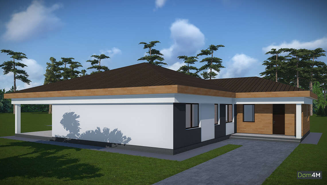 Просторный дом с вместительной закрытой террасой общей площадью 232 кв. м, жилой 132 кв. м
