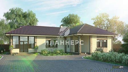 Проект просторного дома для большой и дружной семьи общей площадью 151 кв. м, жилой 140 кв. м