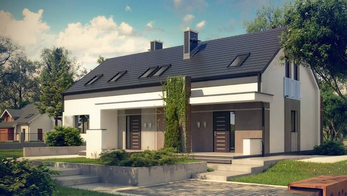 Двухсемейный дом с общим входом