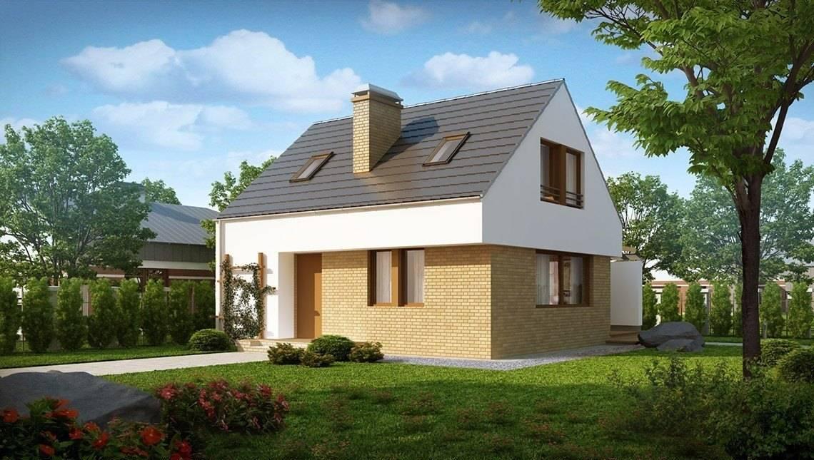 Чайный домик с кирпичным фасадом