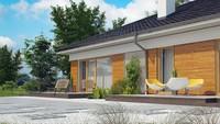 Проект удобного одноэтажного дома с несколькими ванными комнатами