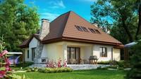 Проект просторного дома с функциональной планировкой