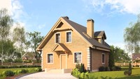 Компактный проект экологичного дома