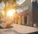Двухэтажный коттедж с гаражом в стиле модерн