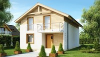 Проект дома с эстетичным современным фасадом