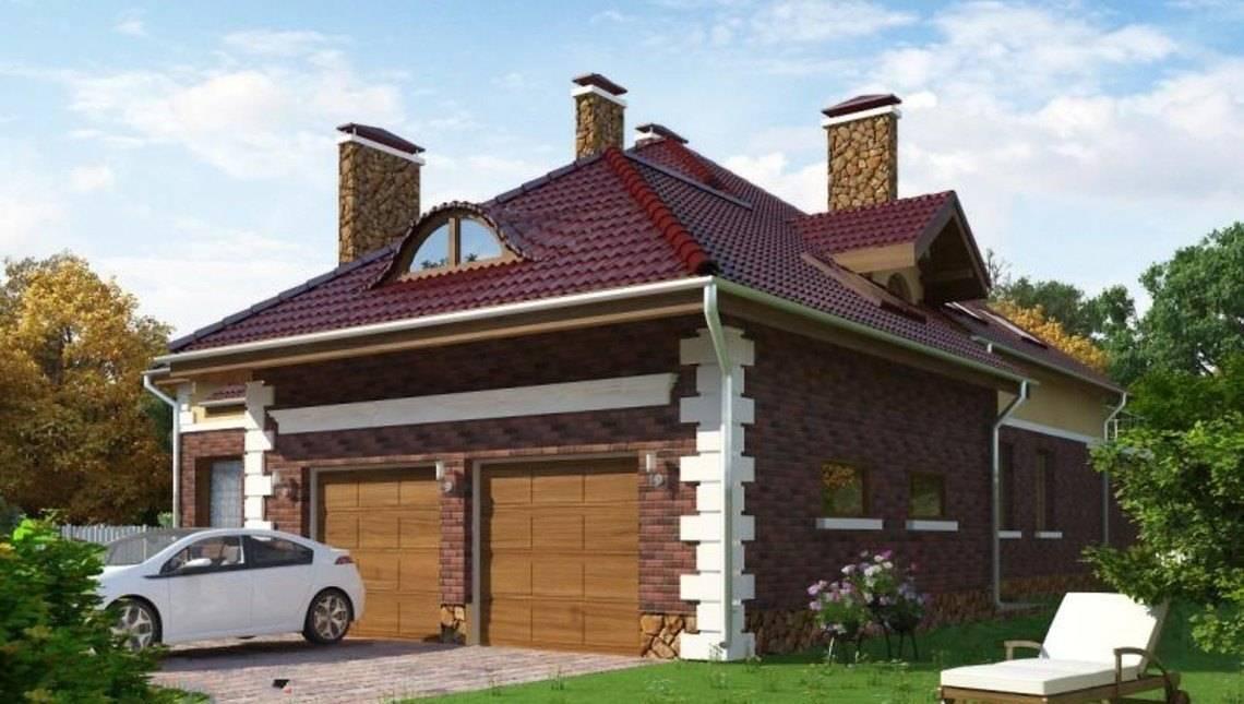 Роскошный особняк с просторной террасой и гаражом на 2е машины