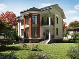 Яркий проект красивого загородного коттеджа
