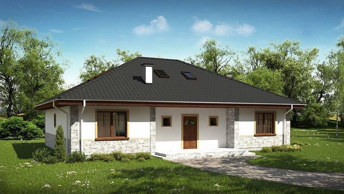 Проект симпатичного мансардного домика