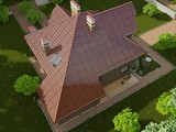 Проект классической усадьбы с кирпичным фасадом