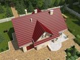 Проект уютного домика в саду
