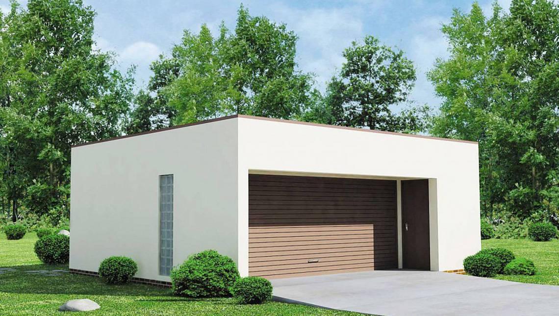 Проект современного практичного гаража