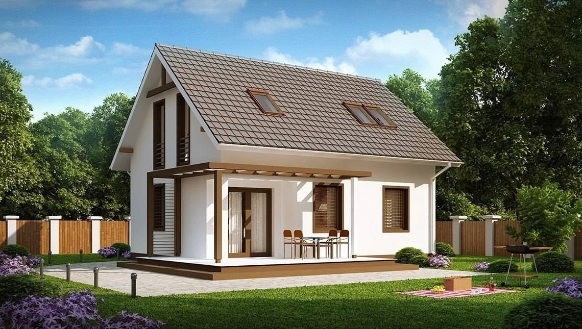 Компактный уютный домик 4M192 в каркасном исполнении