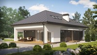 Версия проекта дома 4M508 с современным внешним видом