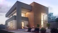 Проект шикарного современного двухэтажного коттеджа со вторым светом