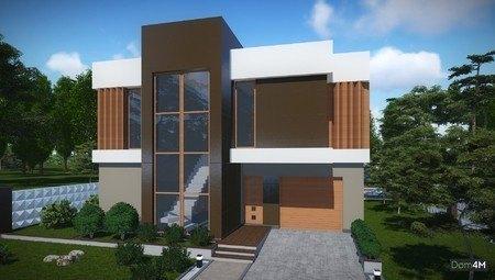 Красивый проект современного загородного дома