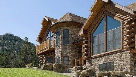 Деревенский стиль архитектуры