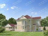 Проект роскошного коттеджа 220 m²