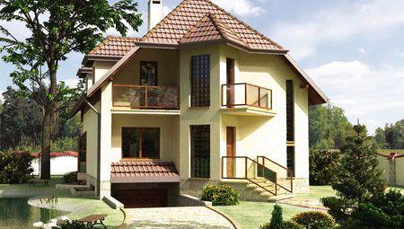 Дивный дом с жилой площадью 150 м² с цокольным этажом
