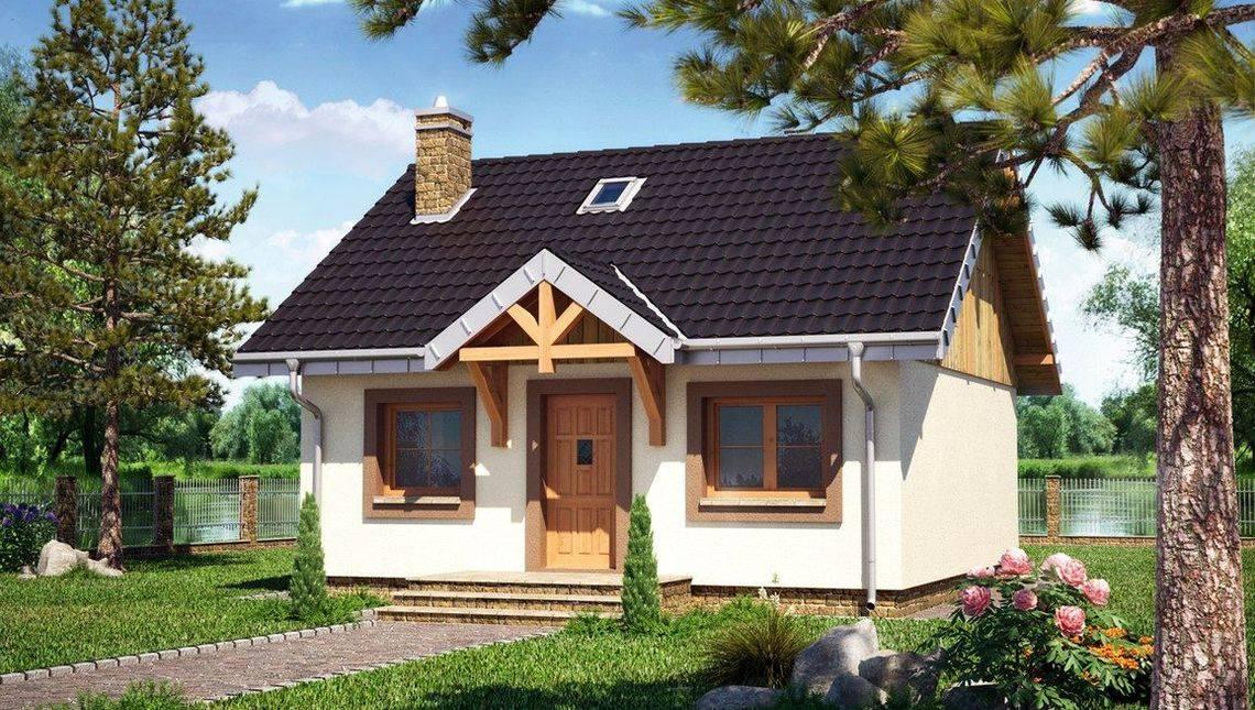 Симпатичный загородный домик с двумя комнатами