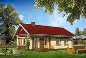 Архитектурный проект небольшого и уютного загородного дома