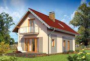 Проект дома для узкого участка 12 на 6