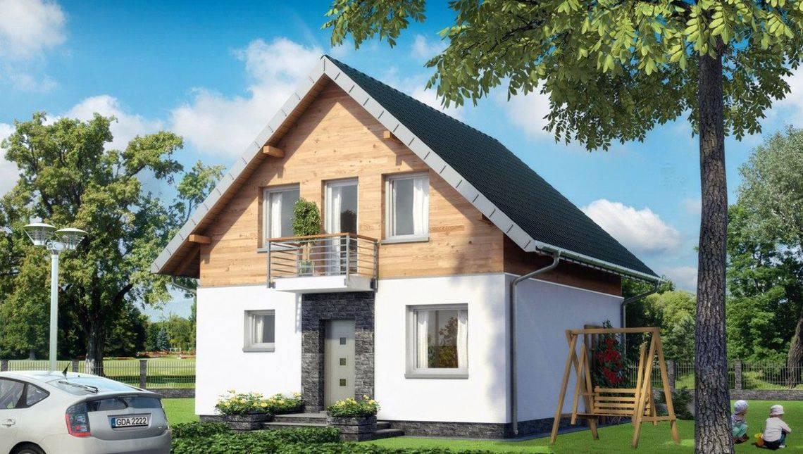 Стильный загородный дом с большой открытой террасой
