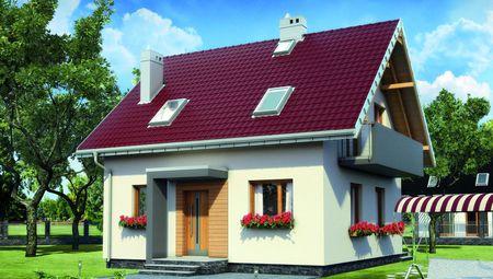 Миниатюрный загородный дом с четырьмя спальнями