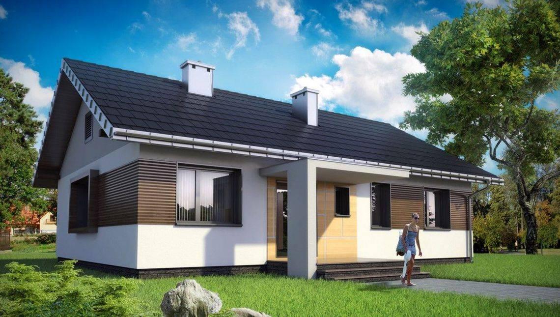 Одноэтажный проект прямоугольной формы 13 на 10