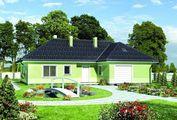 Элегантная загородная усадьба с компактным гаражом и просторными комнатами