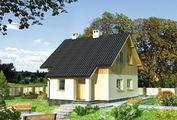 Проект современного коттеджа с тремя спальнями