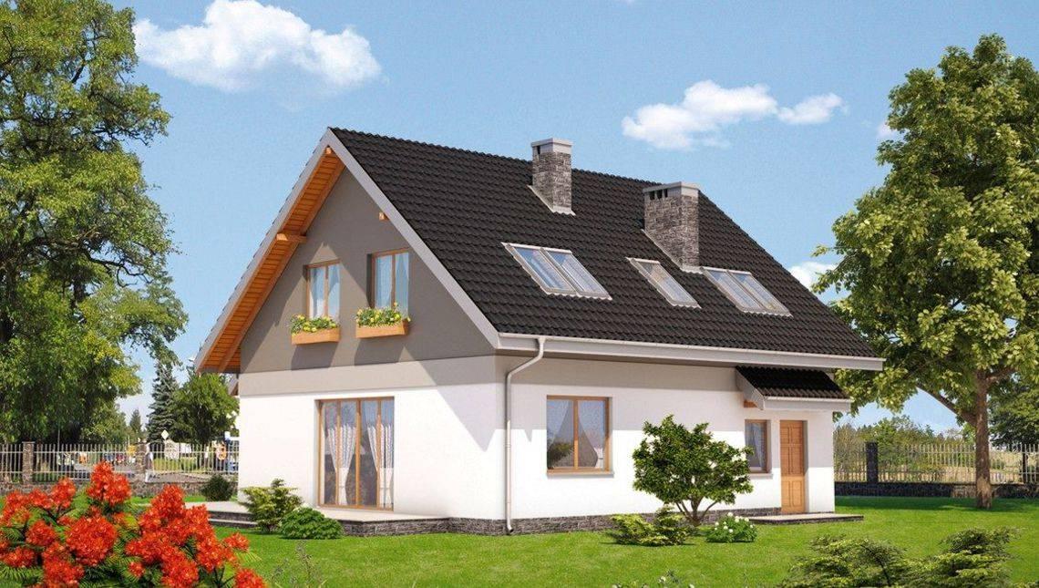 Архитектурный проект загородного дома с удобной планировкой