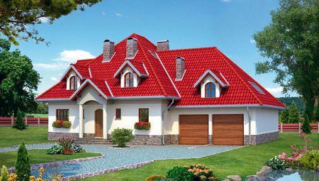 Роскошный загородный особняк с площадью 340 m²