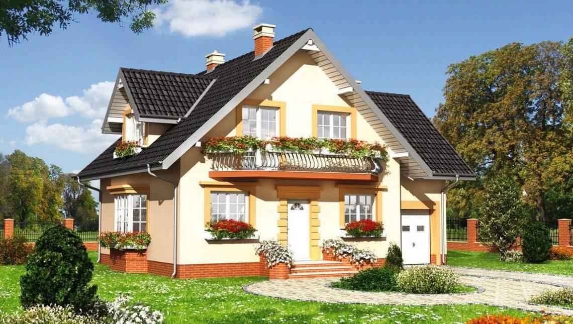 Небольшой жилой дом с шестью спальнями