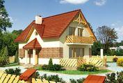 Привлекательный жилой дом площадью до 100 м2